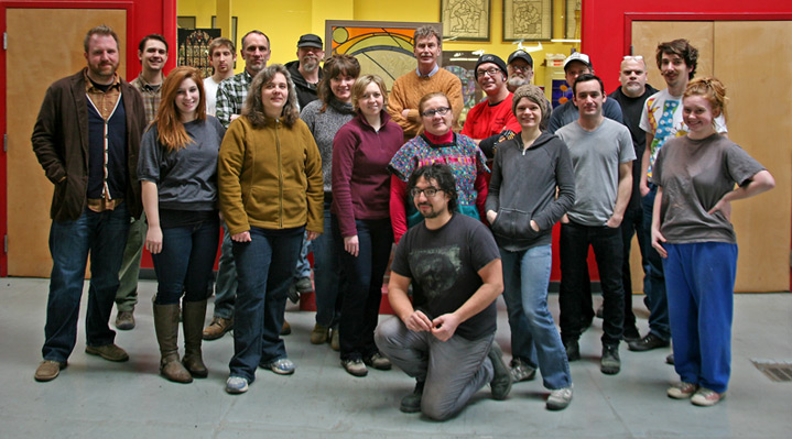 Studio Staff Group Photo